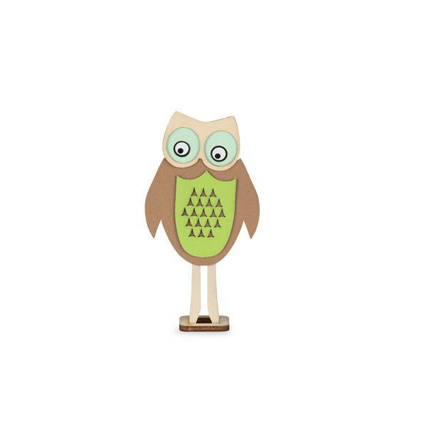 Owl Peg Doll Mini Craft Kit