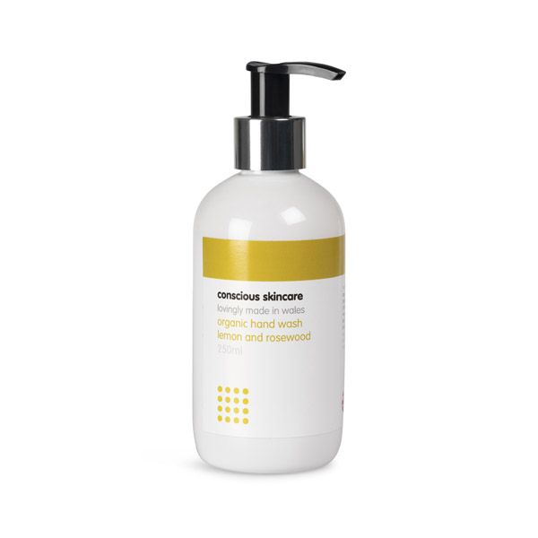 Lemon and Rosewood Organic Hand Wash