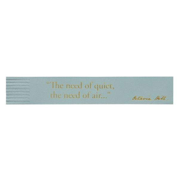 National Trust Celebration Bookmark, Air