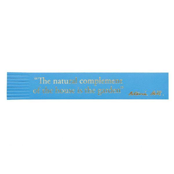 National Trust Celebration Bookmark, Garden