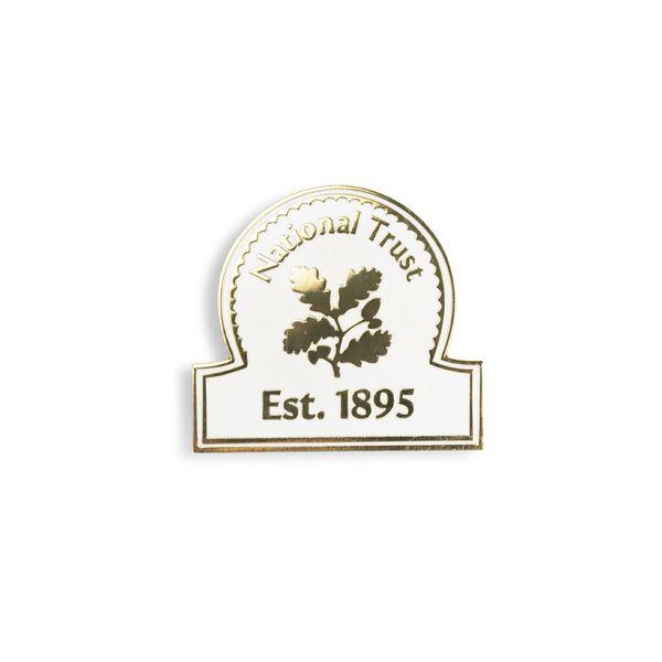 National Trust Celebration Pin Badge