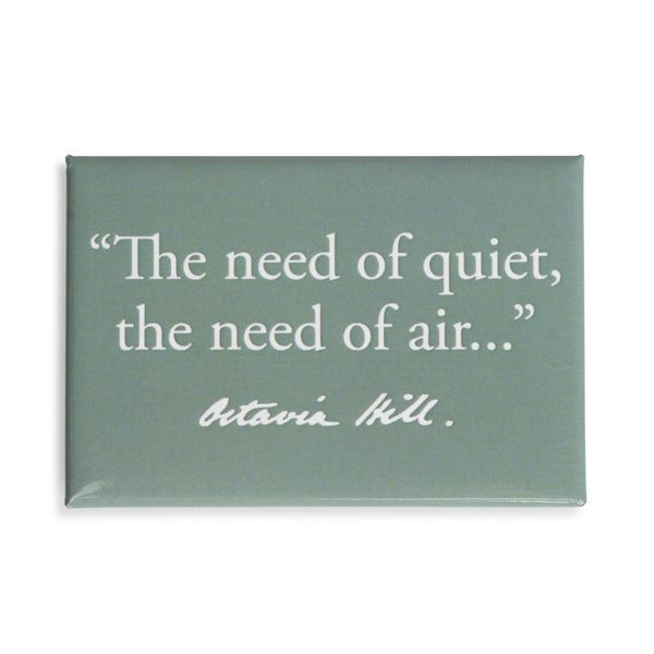 National Trust Celebration Air Quote Magnet