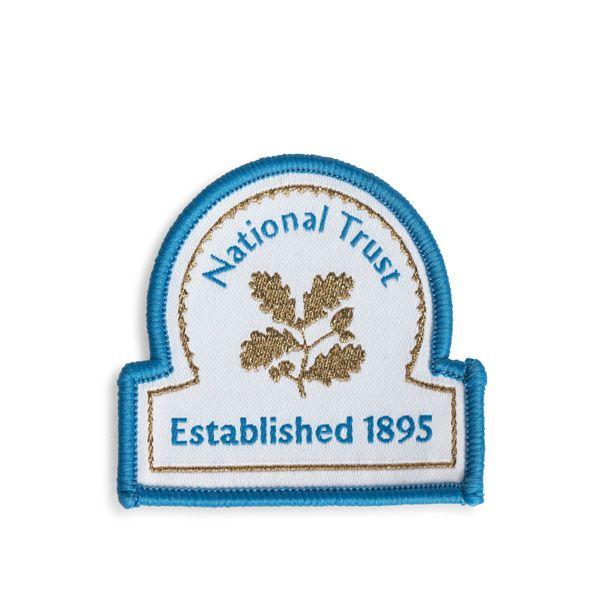 National Trust Celebration Omega Embroidered Badge