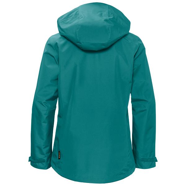 National Trust Jack Wolfskin Women's Longshaw Jacket, Emerald Green