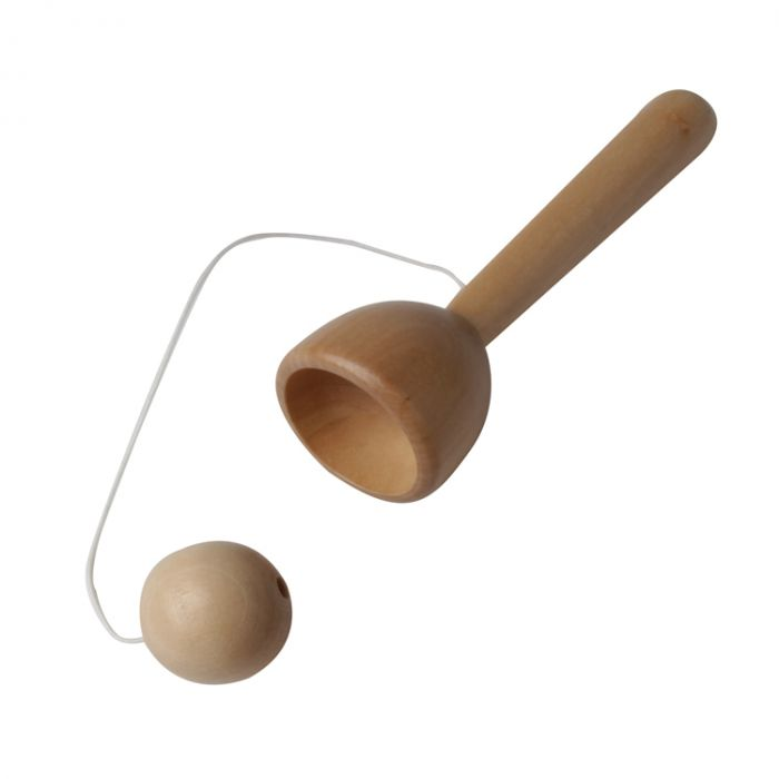 Traditional Wooden Ball and Cup Toy