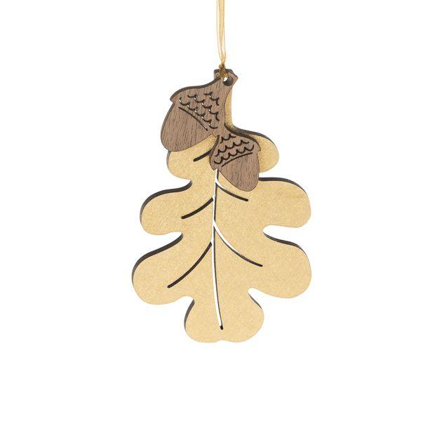 Oak Leaf and Acorn Decoration