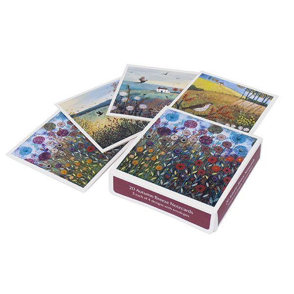 Jo Grundy Notecards, Pack of 20