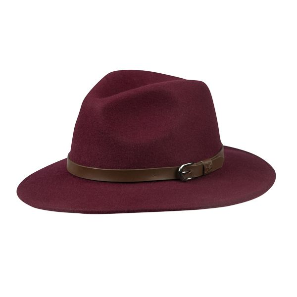 Adventurer Hat, Burgundy