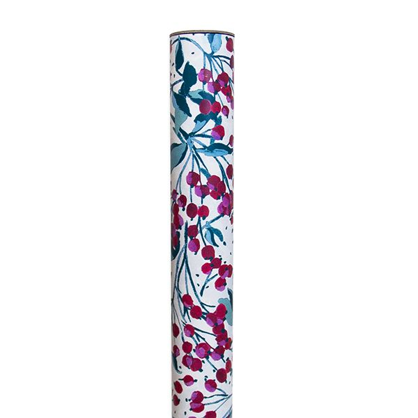 Winter Berries Roll Wrapping Paper