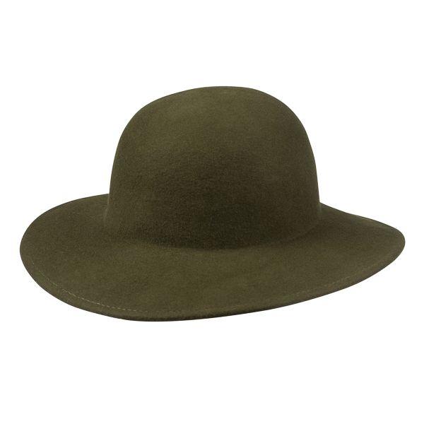 Wide Brim Hat, Khaki