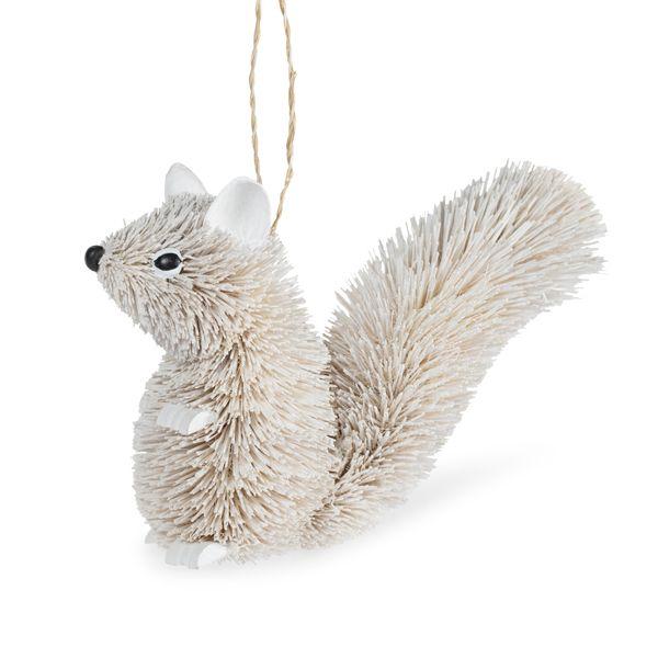 Bristle Squirrel Tree Decoration
