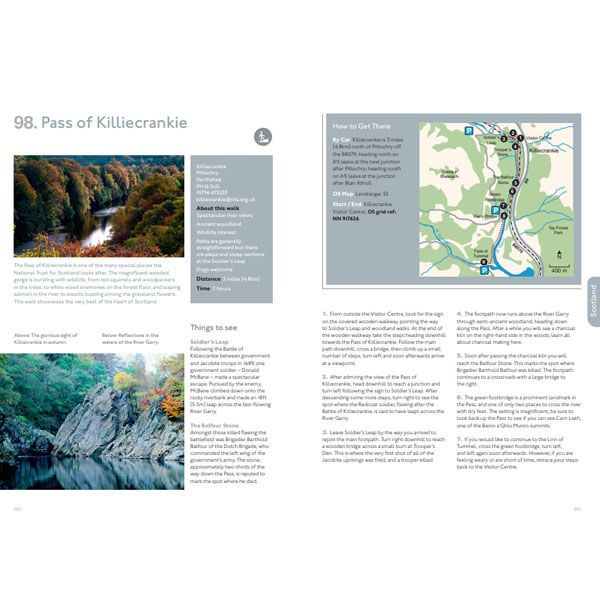 100 Nature Walks, Discover Britain's Wild Side