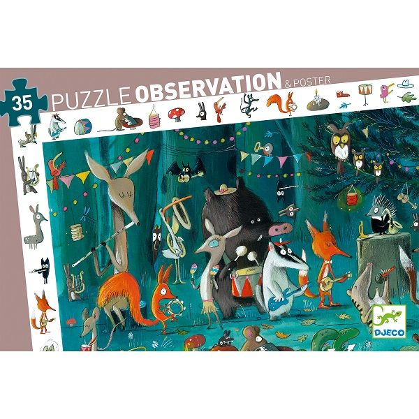 The Orchestra Observation Puzzle, 35 pieces