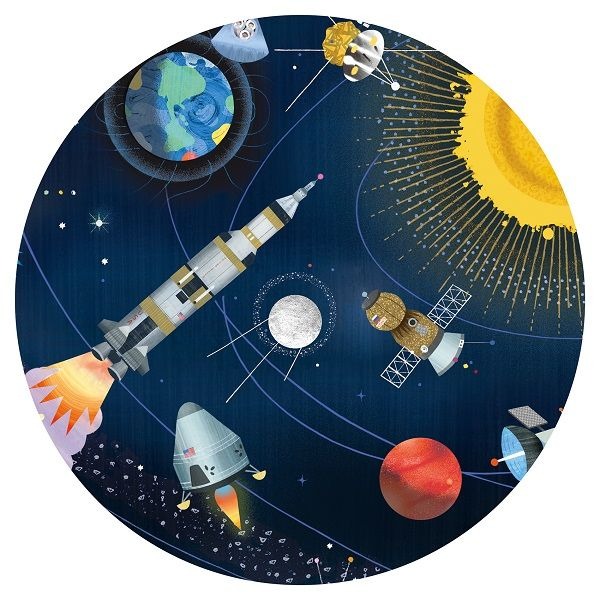 Space Observation Jigsaw Puzzle and Booklet, 200 Pieces
