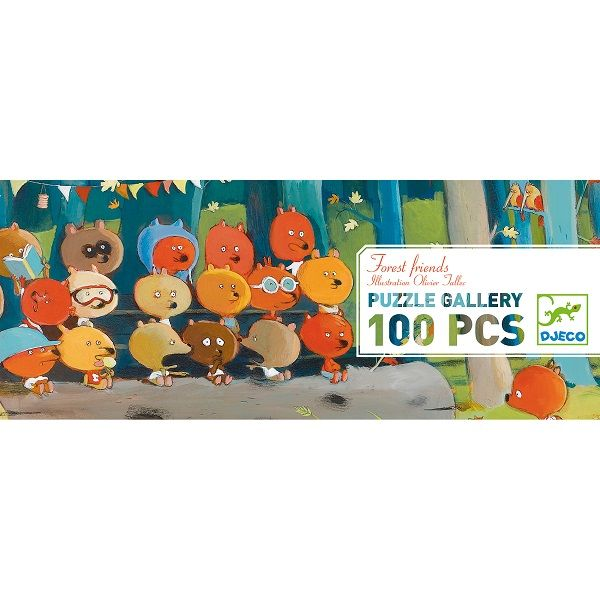 Forest Friends Jigsaw Puzzle, 100 Pieces