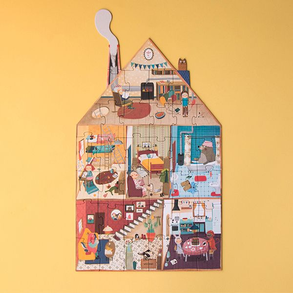 Welcome To My Home Jigsaw Puzzle, 36 Pieces