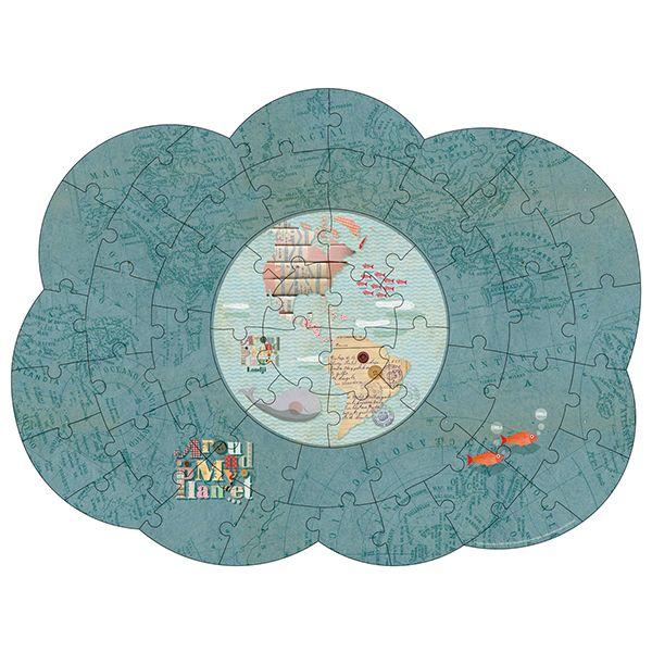 Around My Planet Jigsaw Puzzle, 52 Pieces