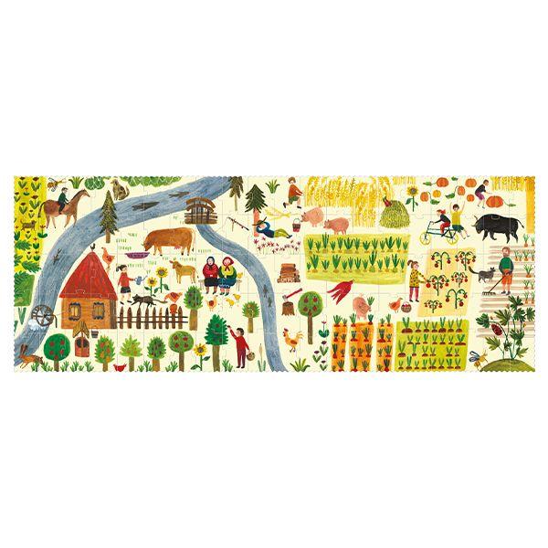 Enjoy The Farm Jigsaw Puzzle, 100 Pieces