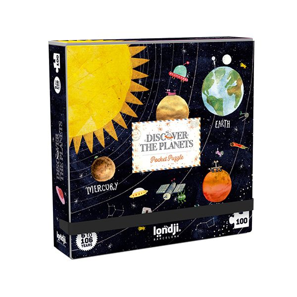 Pocket Planets Jigsaw Puzzle, 100 Pieces