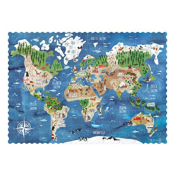 Pocket World  Jigsaw Puzzle, 100 Pieces
