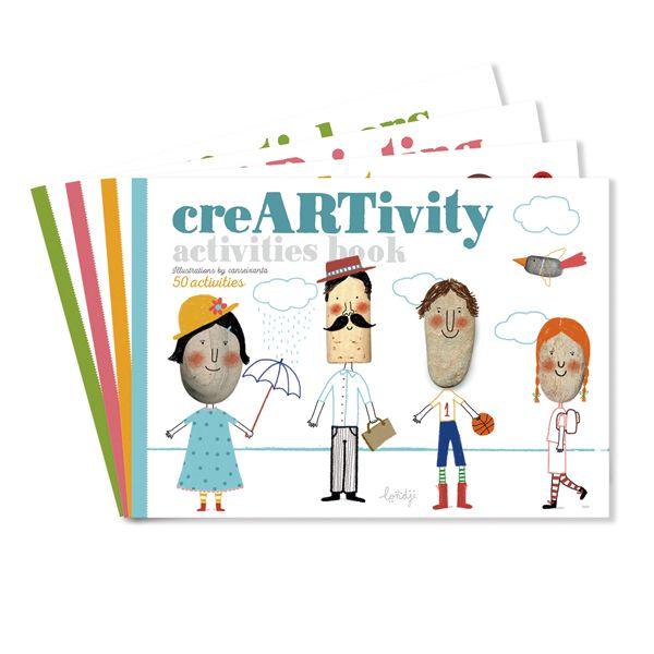 CreARTivity Activities Book