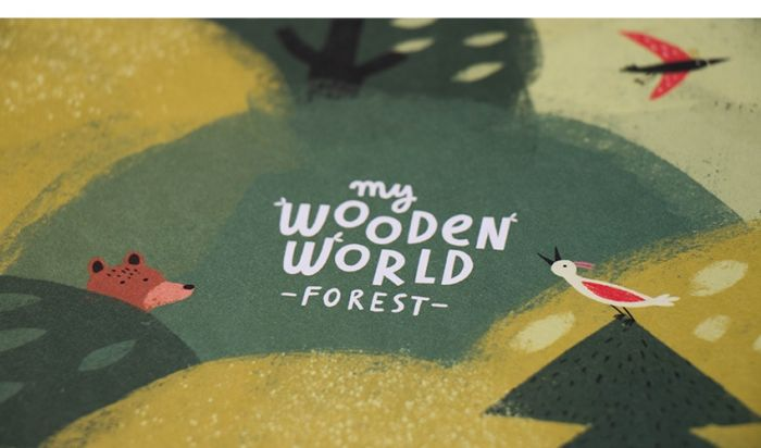 My Wooden World, Forest