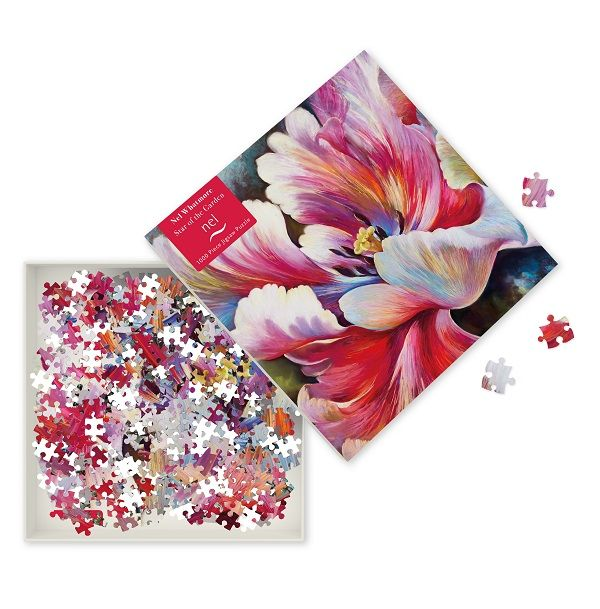 Nel Whatmore Star of the Garden Jigsaw Puzzle, 1000 Pieces