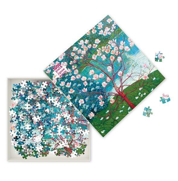 Wilhlm List Magnolia Tree Jigsaw Puzzle, 1000 Pieces