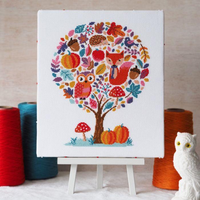 Hello Pumpkin Cross Stitch