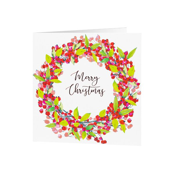 National Trust Berries Christmas Cards, Pack of 10