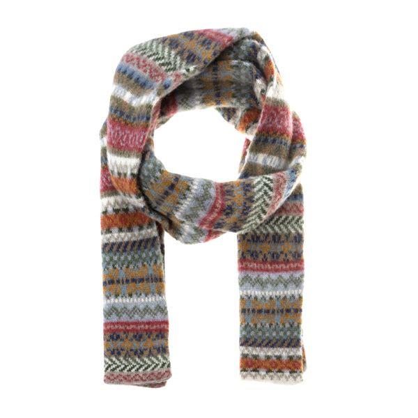 Women's Fairisle Knit Scarf