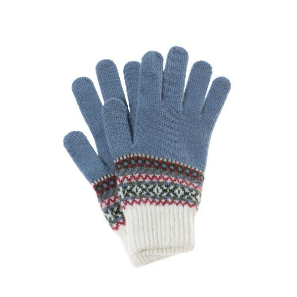Women's Fairisle Knit Gloves