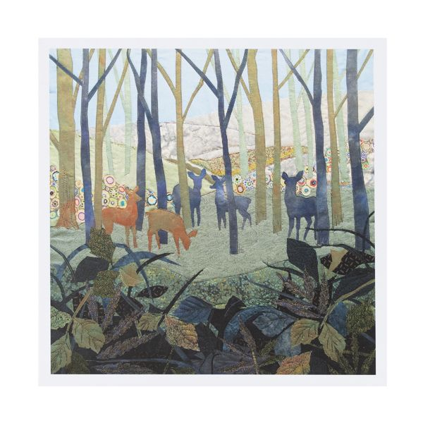 National Trust Winter Walk Kate Findlay Notecards, x 20
