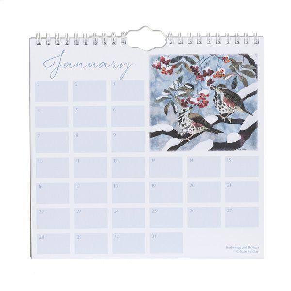 Kate Findlay Birthday Calendar