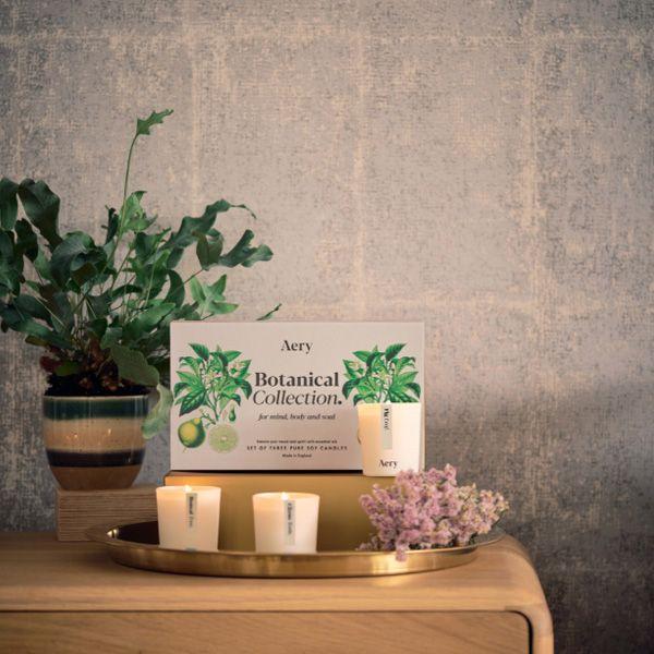 Botanical Votive Candle Gift Set