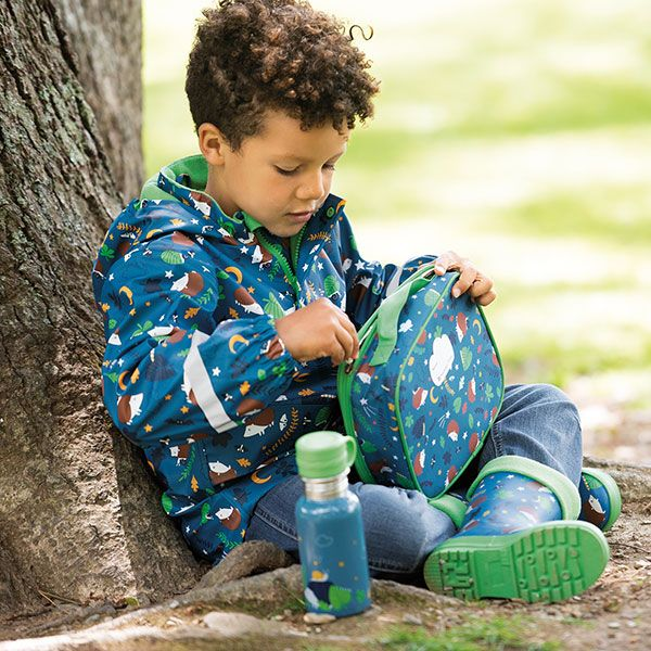 Frugi and National Trust Water Bottle, Nocturnal Explorers