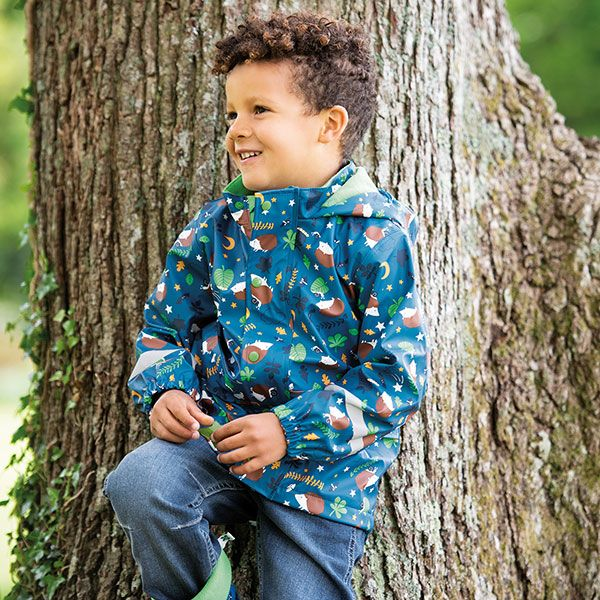 Frugi and National Trust Coat, Nocturnal Explorers
