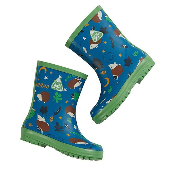 Frugi and National Trust Wellington Boots, Nocturnal Explorers