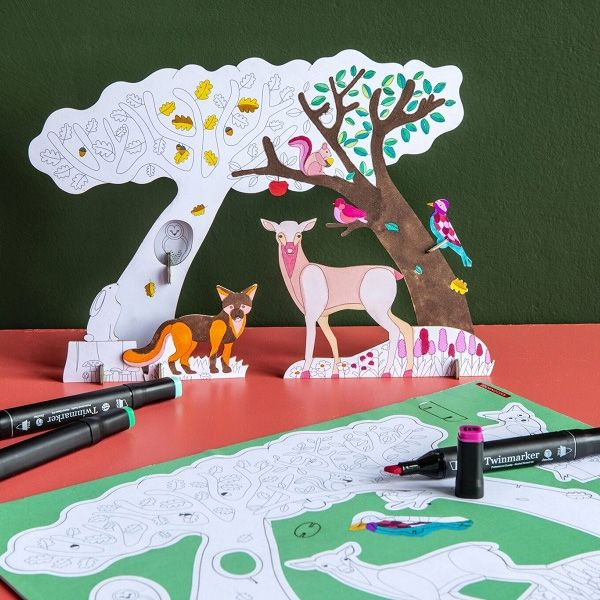 Forest Story 3D Play Kit