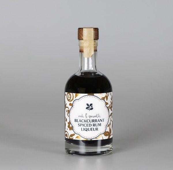 Spiced Blackcurrant Rum 350ml