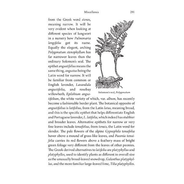 Little Book Of Latin For Gardeners