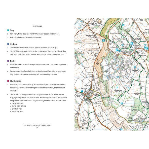 Ordnance Survey Puzzle Book
