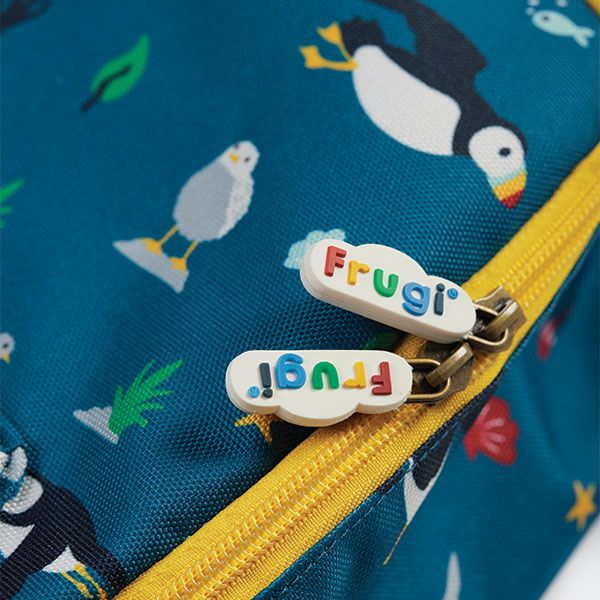 Frugi and National Trust Adventurer's Backpack, Paddling Puffins