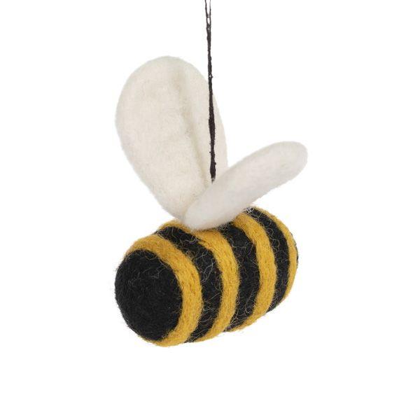 Hanging Felt Bumblebee