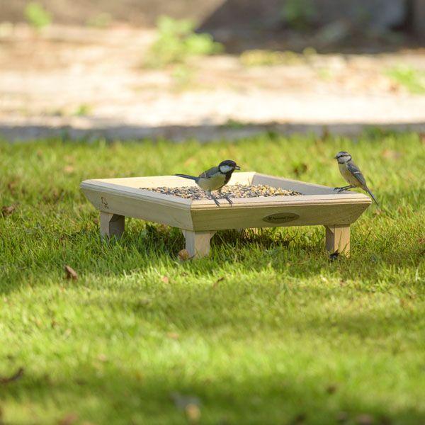 National Trust CJ Wildlife Ground Feeding Table