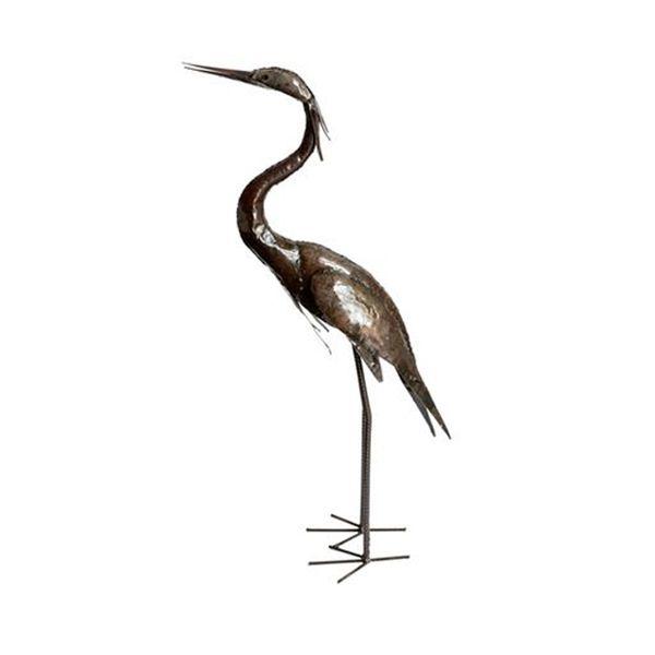 Upright Heron Sculpture