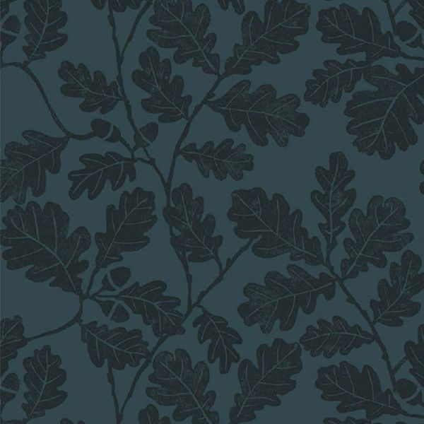 Detail of the trailing blue oakleaf pattern on lighter blue background for the Hunter Norris field boot range