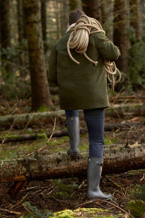 National Trust Hunter Men's Norris Field Boot, Gravel