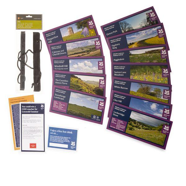 Wiltshire Landscape Walking Challenge Pack