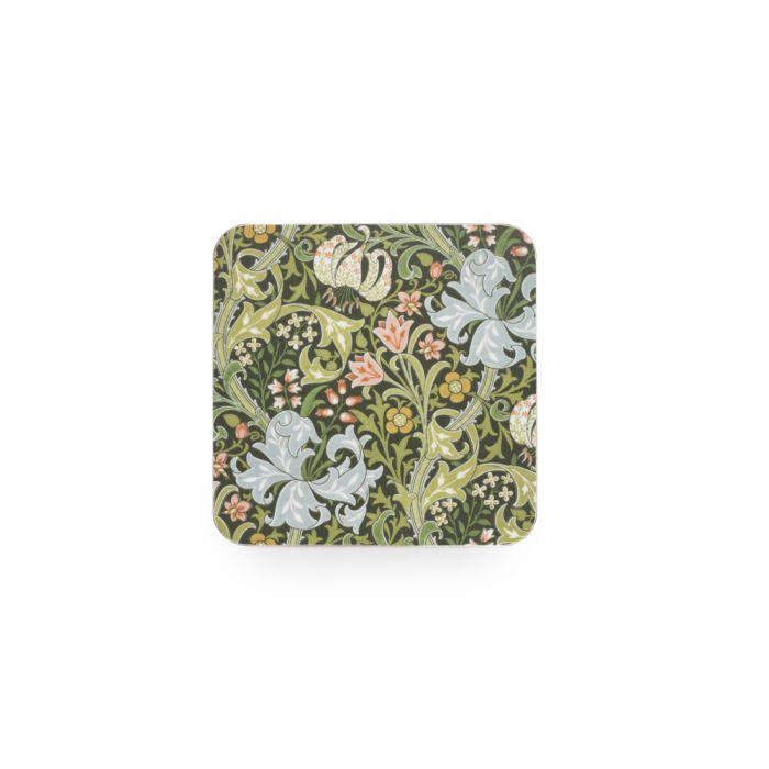 William Morris Coaster, Set of 6, Mixed Designs